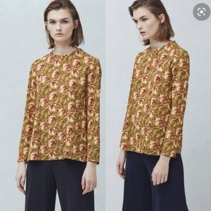 MNG Suit | NWT Floral Long Sleeve Blouse